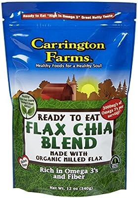 Carrington Farms Organic Flax Chia Blend, 12 oz by Carrington Farms