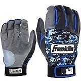Franklin フランクリン バッティンググローブ DIGITEK 青 黒 グレー サイズXL [並行輸入品]