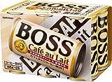 サントリー ボス カフェオレ (185g×6缶)×5個