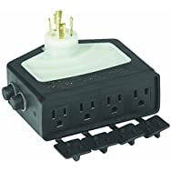 Do it Best Global Sourcing L20-14 4-Outlet Generator Adaptor-GENERATOR ADAPTER