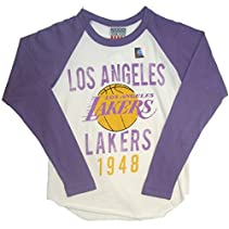 Junk Food Boy's Los Angeles Lakers Raglan