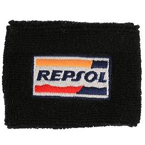 Repsol Honda Brake Reservoir Sock Cover Available in Black and Orange, Fits CBR, 600, 1000, 600RR, 1000RR, 954, 929, RC51