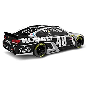 Lionel Racing Jimmie Johnson #48 Kobalt Tools 2016 Chevrolet SS NASCAR Diecast Car (1:24 Scale), Chrome