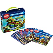 (Step into Reading) 닌자 터틀 Phonics Power! (Teenage Mutant Ninja Turtles) 파닉스 북 페이퍼백 세트