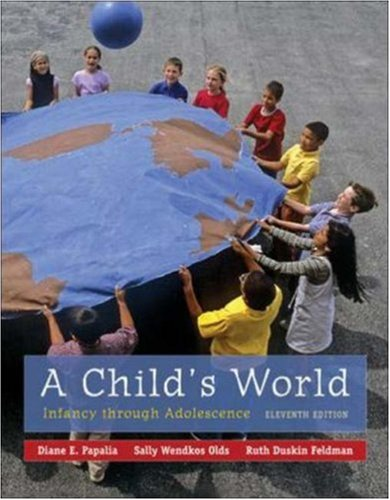 A Child'S World: Infancy Through Adolescence front-1010860