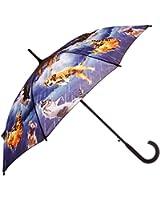 Galleria Raining Cats Dogs Stick Umbrella