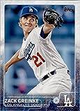 2015 Topps Baseball Card #267 Zack Greinke NM-MT