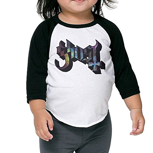 kids-ghost-bc-rock-band-3-4-raglan-sleeves-baseball-tee-shirt-jersey-for-boys-and-girls-age-of-2-6-y