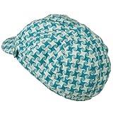 Star Newsboy Hat - Blue W16S69E