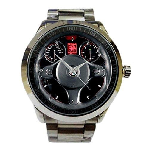 New Wrist watches XRJS007 2015 Alfa Romeo 159 TI Black Interior Steering Wheel Accessories Sport Watch (Alfa Romeo 159 Ti compare prices)