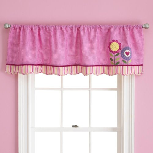 Love Bug Window Valance by Too Good by Jenny - 58 in x 14 in