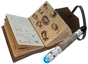 Doctor Who Journal of Impossible Things and Mini Sonic Screwdriver Pen from Underground Toys
