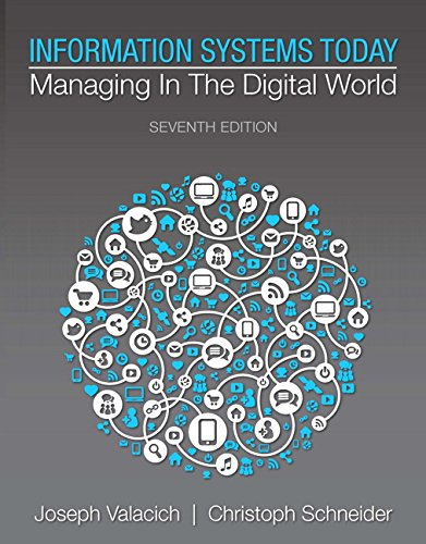 Information Systems Today: Managing in the Digital World (7th Edition) (Digital Information compare prices)