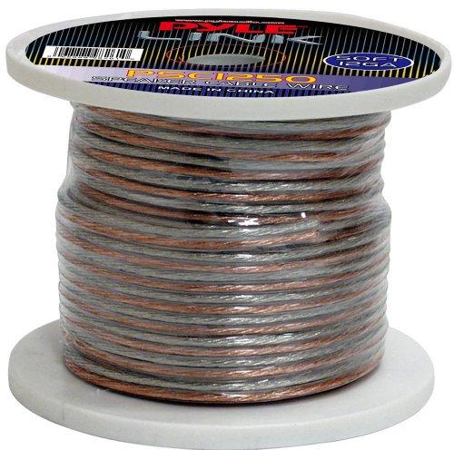 Pyle Psc1250 12-Gauge, 50 Feet Spool Of High Quality Speaker Zip Wire