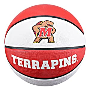 Buy NCAA Maryland Terrapins Collegiate Deluxe Official Size Rubber Basketball by Baden