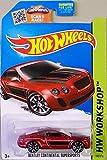 Hot Wheels, 2015 HW Workshop, Bentley Continential Supersports [Metallic Maroon] Die-Cast Vehicle #192/250