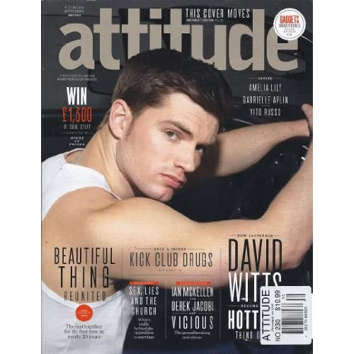 Attitude Magazine (#230) (May 2013 (David Witts Cover)): Matthew Todd