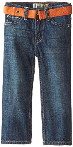 Lee Little Boys' Nash Belted Jean, Antique, 2T