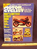 1987 87 January MOTORCYCLIST Magazine (Features: 1987 Preview - BMW, Cagiva, Ducati, Harley Davidson, Honda Kawasaki Suzuki, Yamha & Other Players)
