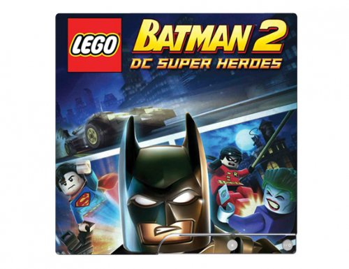 LEGO Batman 2: DC Super Heroes Game Skin for Sony Playstation 3 Slim Console PS3 (Lego Batman Decals compare prices)