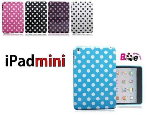 iPad mini TPUケース/カバー ピンク【アイパットミニ/iPadmini/ドット/水玉】1835