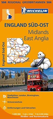 michelin-england-sud-ost-midlands-east-anglia-strassen-und-tourismuskarte-1400000-michelin-regionalk