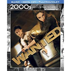Wanted (Blu-ray + Digital Copy + UltraViolet)