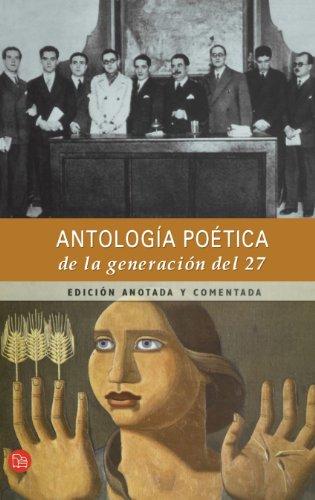 Antología poética de la Generación del 27 (Punto de Lectura) (Spanish Edition)