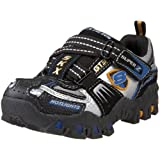 Skechers Toddler Deflecktord-Turbo S Sports Car Lighted Super Z Sneaker