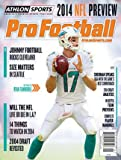 img - for 2014 Athlon Sports NFL Pro Football Magazine Preview- Miami Dolphins Cover book / textbook / text book