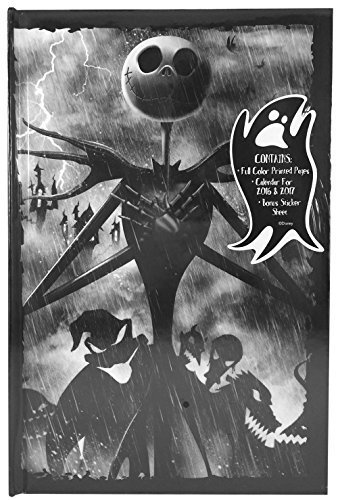 [Tim Burton's The Nightmare Before Christmas Journal with Calendars and Stickers, Jack Skellington and Ghouls] (Halloween Costume Ideas 2016 Men)