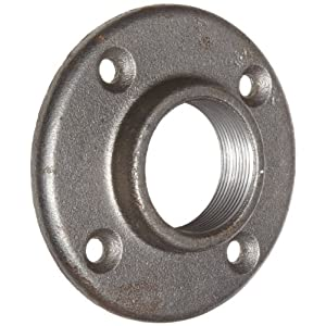 Anvil malleable iron pipe fitting class 150 floor flange for 1 inch black pipe floor flange