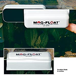 Gulfstream Tropical FLOAT-125 Mag-Float Floating Aquarium Cleaner, Medium