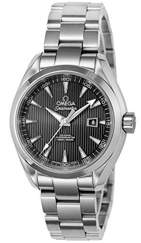 [オメガ]OMEGA 腕時計 シーマスターアクアテラ ブラック文字盤 コーアクシャル自動巻 150M防水 バックスケルトン 231.10.34.20.01.001  【並行輸入品】