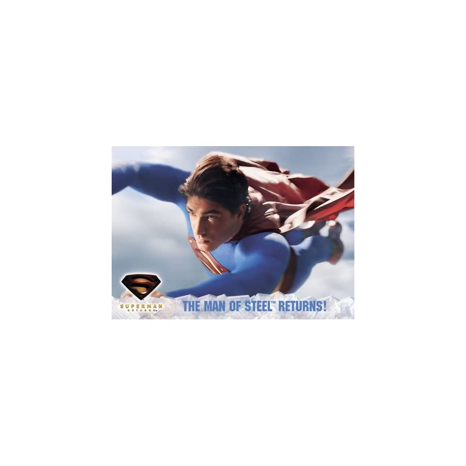 Superman Returns Movie Trading Cards Update Box of 24 Packs