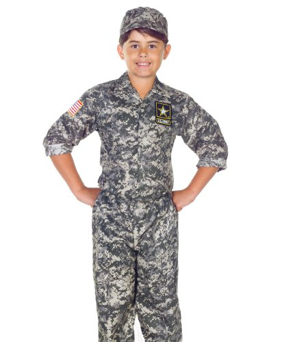 U.S. Army Camo Uniform Kids Costume