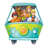 RoomMates RMK1697GM Scooby Doo Mystery Machine Peel & Stick Giant Wall Decal