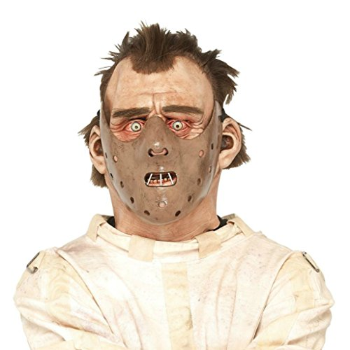 Hannibal Lecter Silence Of The Lambs Horror Latex Adult Halloween Costume Mask