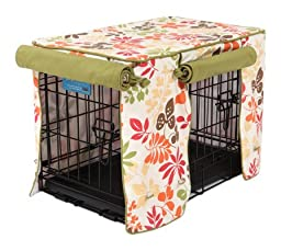 Crate Covers and More Leaves and Flowers with Leaf Stagecoach, Double Doors