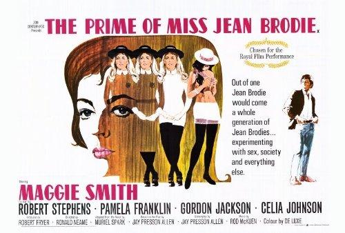 The Prime Of Miss Jean Brodie Movie Poster (27 X 40 Inches - 69Cm X 102Cm) (1969) Style C -(Maggie Smith)(Pamela Franklin)(Robert Stephens)(Celia Johnson)(Gordon Jackson)(Jane Carr) front-356418