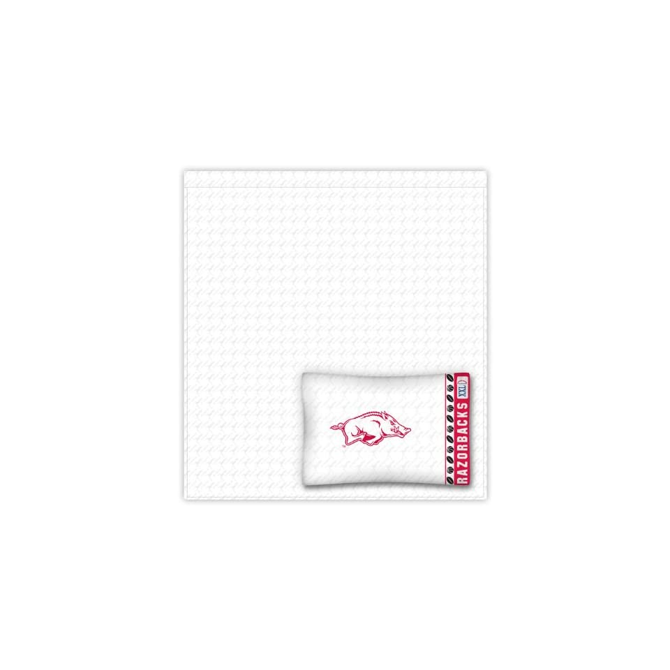 2b2a074f9 NCAA Arkansas Razorbacks Locker Room Full Sheet Set on PopScreen