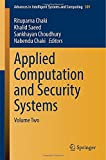 img - for Applied Computation and Security Systems: Volume Two (Advances in Intelligent Systems and Computing) book / textbook / text book