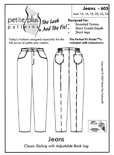 Patterns - Petite Plus #605 Jeans