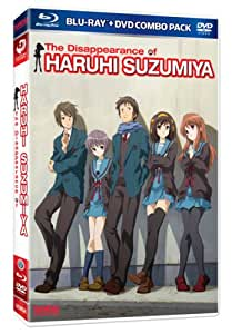 Melancholy of Haruhi Suzumiya Movie: The Disappearance of Haruhi Suzumiya [Blu-ray + DVD]