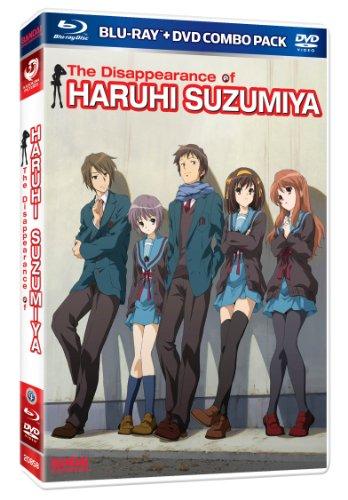 涼宮ハルヒの消失  [BD-DVD Combo][北米版]