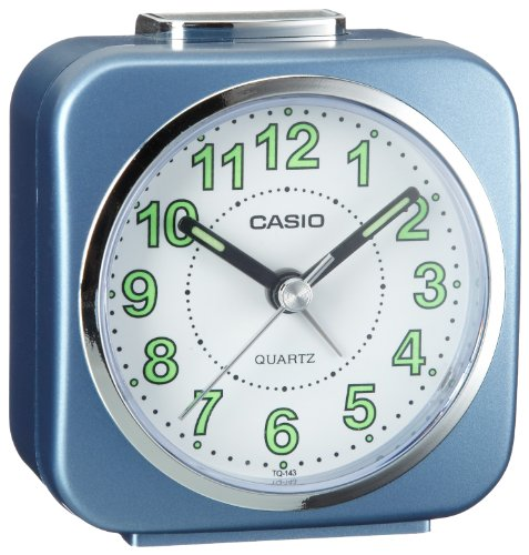 Casio Tq-143-2Ef Beeper Alarm Clock front-585010
