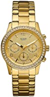 GUESS U14503L1 Gold Stainless Steel