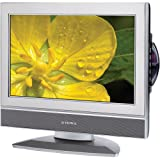 Audiovox FPE1708DVS 17-Inch LCD TV with Built-In DVD Player and Stainless Steel Finish ~ Audiovox