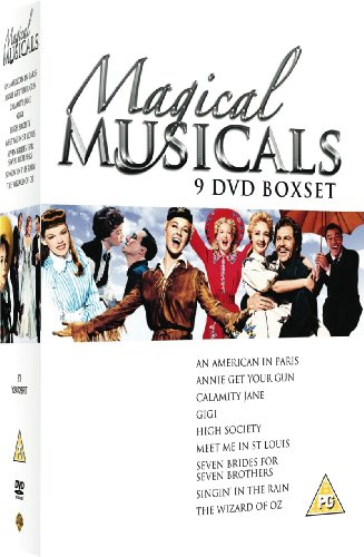 Magical Musicals Collection - (Annie Get Your Gun / Seven Brides For Seven Brothers / Singin In The Rain / Gigi / Wizard of Oz / Calamity Jane / High Society / Meet Me In St Louis / American In Paris) [DVD]