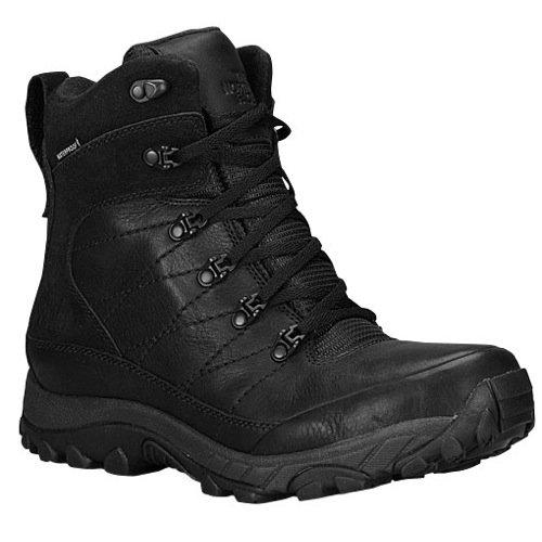 The North Face Men's Chilkat Leather TNF Black/TNF Black Boot 9.5 D (M)